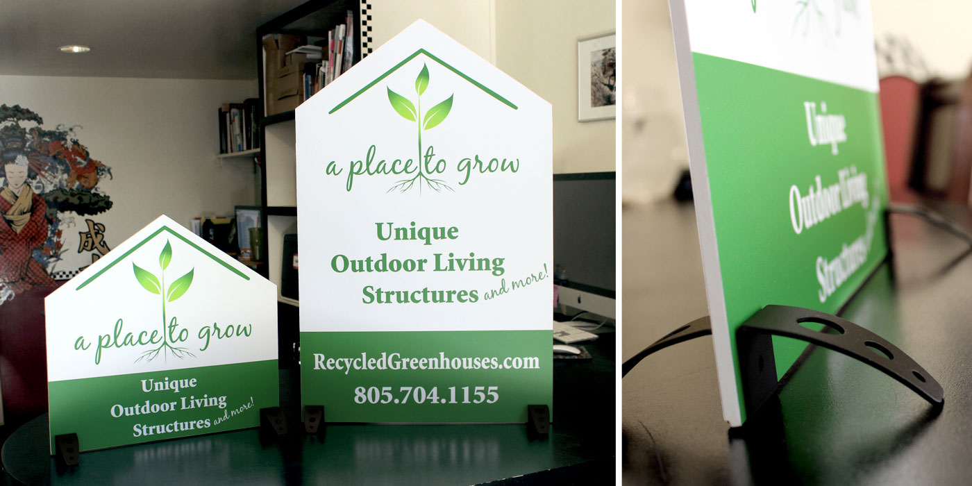 A Place to Grow Recycled Greenhouses