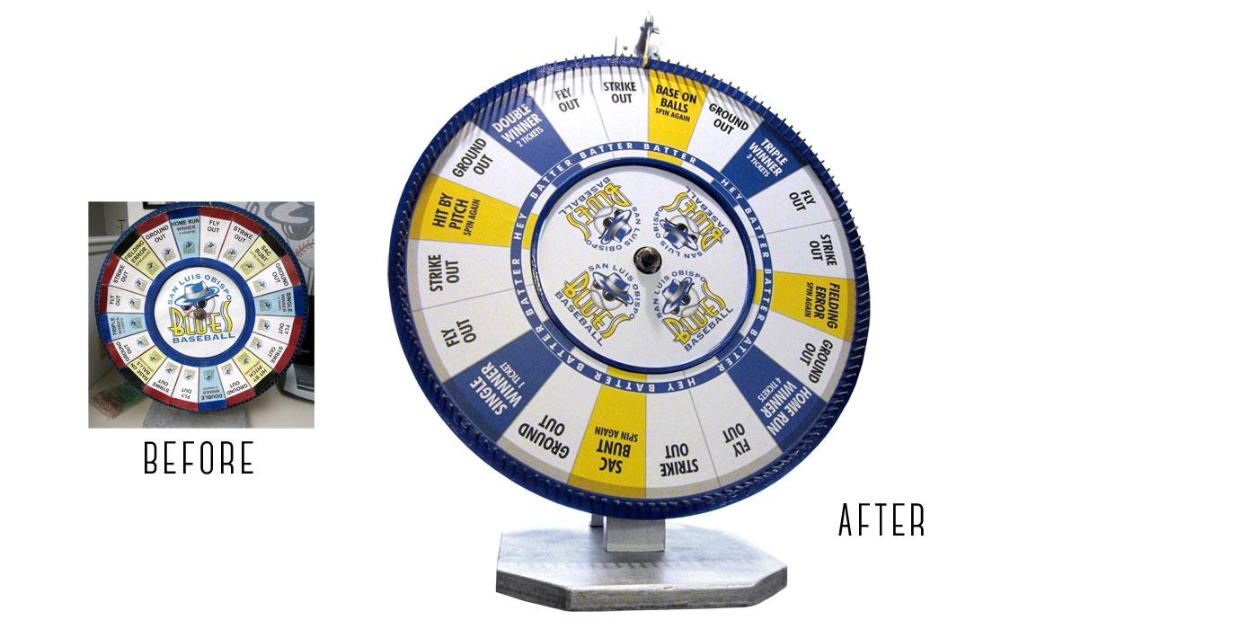 San Luis Blues Spinwheel