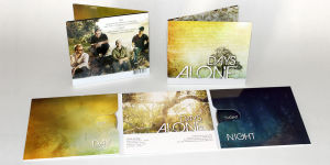 Days Alone Band Album Design