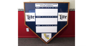 San Luis Blues Homeplate Signs